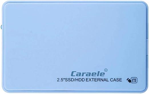 perfk HDD 外付け 2.5インチ USB3.0 SATA ハードディスクドライブ 薄型 プラスチック - 500GB