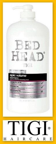Tigi Bed Head Styleshots Epic Volume Shampoo W/pump 67.64oz (2 pack)
