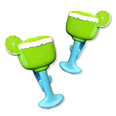 Get the party started! Add a bit of fun and flair to your day at the beach with O2COOL's Margarita BocaClips and keep your towels secured and neatly organized. Our innovative, wide-mouth BocaClips by O2COOL tightly secure beach towels to ch...