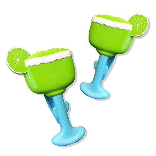 O2COOL Margarita Boca Beach Towel Clip