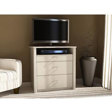 Mainstays Media Dresser for TVs up to 32'', White by Mainstays