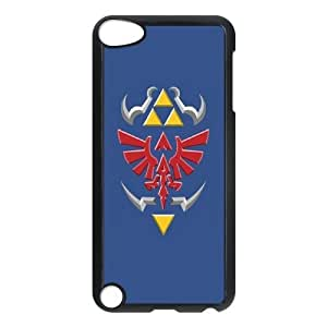 Custom Case for iPod touch5 w/ The Legend of Zelda image at Hmh-xase (style 10)