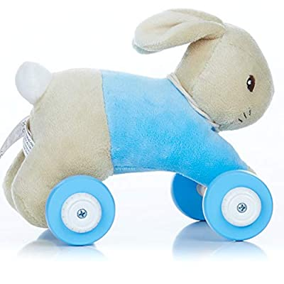 KIDS PREFERRED Beatrix Potter Peter Rabbit Pull Along Toy: Toys & Games