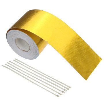 Tape Mag Measuring (Baffle Recording Aluminum Foil Tape Other Tools - 5x900cm Aluminium Foil Thermal Reflective Wrap Barrier Cooling Tape - Mag Thwart Videotape Scotch Measure Bilk Tapeline - 1PCs)