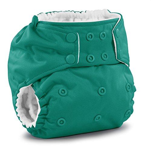 - Rumparooz One Size Cloth Pocket Diaper Snap, Peacock