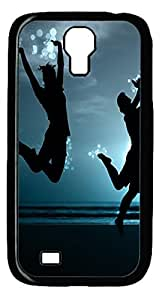 Samsung Galaxy S4 I9500 Case and Cover -Jump PC case Cover for Samsung Galaxy S4 I9500-Black