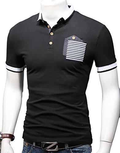 Heaven Days(ヘブンデイズ) ポロシャツ ゴルフウェア ゴルフシャツ 半袖 メンズ 17080179