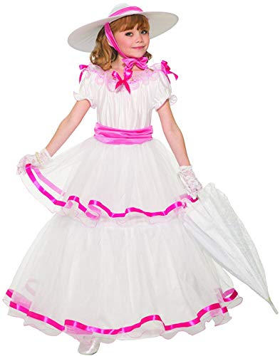 Forum Novelties Child's Designer Southern Belle Costume, Medium -