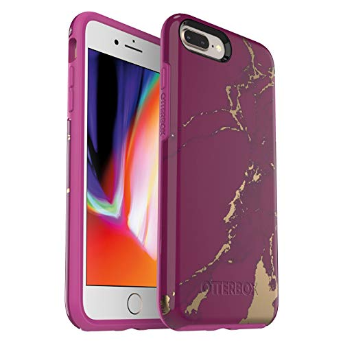 OtterBox Symmetry Series Case for iPhone 8 Plus & iPhone 7 Plus (ONLY) - Purple Marble
