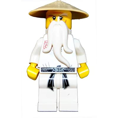 Ninjago Lego Year 2011 Series Key Chain Set # 853101 : Sensei-Wu Keychain: Toys & Games