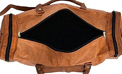 Modern Leather Light Pure Duffel Inches 22 Bag Bag Square Ultra Leather Tuzech watq7H