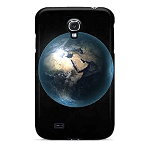 Premium Earth Back Cover Snap On Case For Galaxy S4