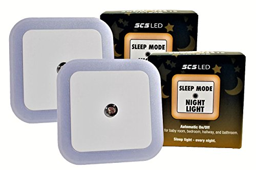 Harth Sleep Mode Night Light. (2-Pack) No Blue Light. Perfect for Nursery, Bedroom, Hallway, Bathroom. Auto Dark/Light Sensor. Amber LED, No Blue Light -Promotes Natural Melatonin Production