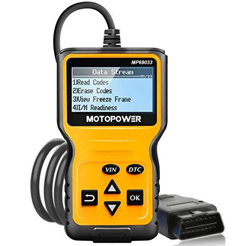Scanner automotriz OBD2 Motopower Mp69033