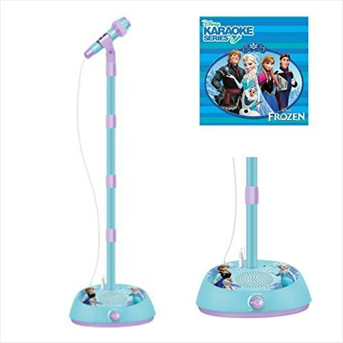 Disney Frozen Microphone and Amplifier with Frozen Karaoke Cd (Along Kids Cd Sing Player)