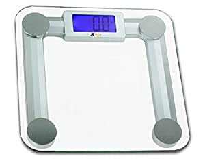 Xtech Highly Accurate 440lbs 200kg Capacity Precision Digital Bathroom Scale With