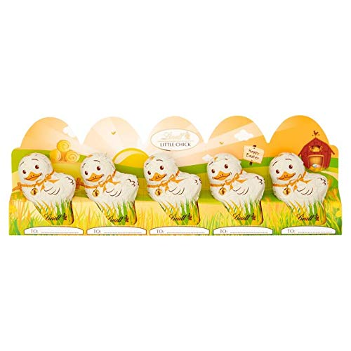 (Lindt Mini Easter Chicks, Milk Chocolate, 1.7 Ounce, 5 Count)