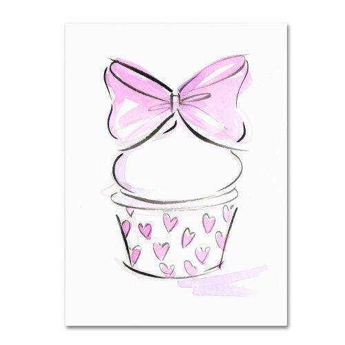 Cupcake 6 by Jennifer Lilya, 35x47-Inch Canvas Wall Art