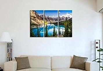 Running Free Bison Canvas Wall Art Print, 36 x24 x1.25