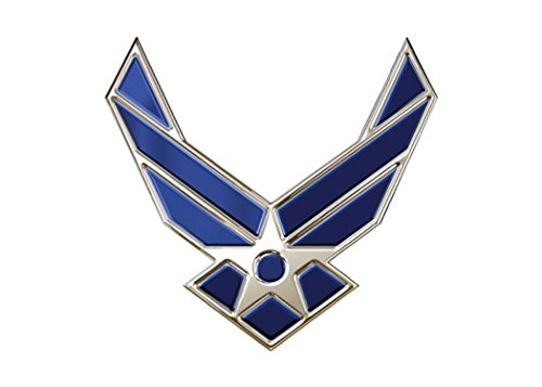 US Air Force USAF Wings United States Patriotic USA Military Emblem Auto Decal Bumper Sticker Vinyl Decal For Car Truck Van RV SUV Boat Fighter Jet Window (3