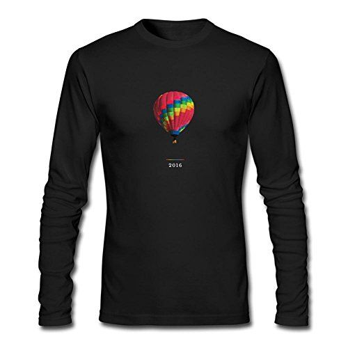 CHENGXINGDA Men's A Head Full Of Dreams Coldplay Logo 2016 Tour Long Sleeve T-shirt - Buckland Hills