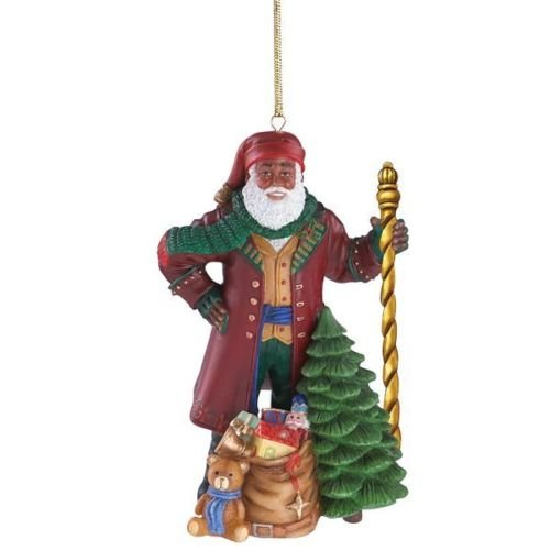 Lenox Ebony Visions 2016 Father Christmas Ornament