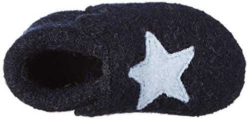 Star Blau Stern Baby Newborn d'intérieur Kitzbühel bébé Chaussons Mixte Living Nachtblau Onx6Iw