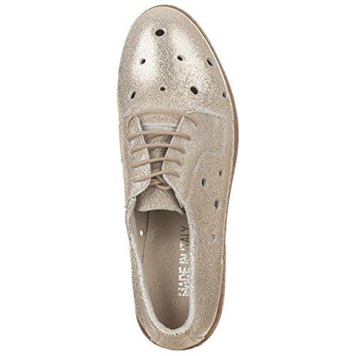 VialeScarpe Ers-megvtor_36 - Zapatos de cordones para mujer dorado dorado 36 dorado