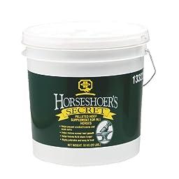 Farnam Horseshoer\'s Secret Pelleted Hoof Supplement for Horse, 22-Pound
