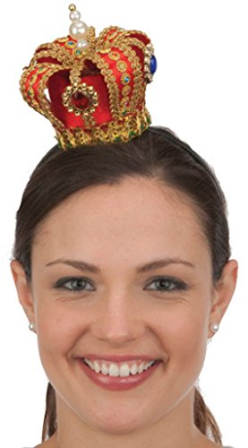 Jacobson Hat Company Mini Queen's Crown Headband]()