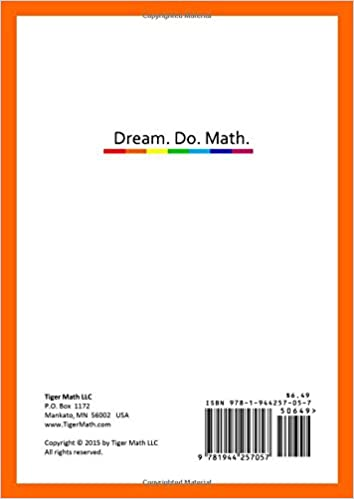Tiger Math Level B - 1 for Grade 1 (Self-guided Math Tutoring ...