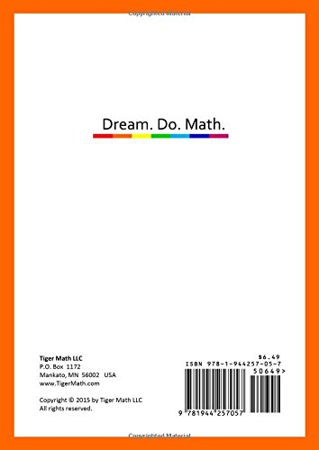 Math Worksheets 3rd grade free math worksheets : Tiger Math Level B - 1 for Grade 1 (Self-guided Math Tutoring ...