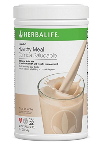 Herbalife Formula 1 Healthy Meal Nutritional Shake Mix (10 Flavor) (Dulce de Leche) For Sale