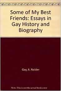gay essays