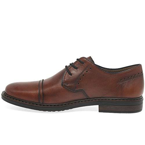 Chaussures Lacets Mens Lecture Derby Formelle Cuir Rieker En Amaretto wxganYAXq
