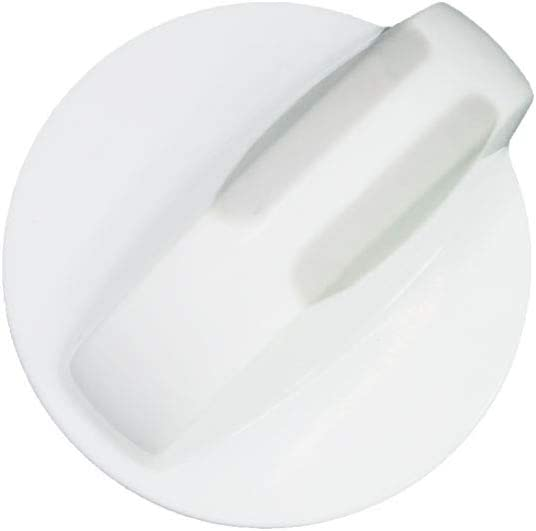 AMI PARTS Selector Knob 134844410 Washer/Dryer Selector Knob Replacement white Compatible with Frigidaire Washer/Dryer