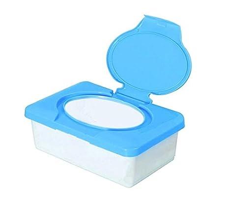 muzuri plástico casa de pañuelos caja para toallitas húmedas para bebé Estuche para toallitas húmedas limpiador comida servilletas distribuidor Facial ...