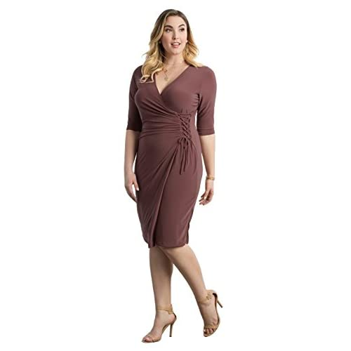 0fa2c5a543e good Kiyonna Women s Plus Size Vixen Cocktail Dress - www.m.cblleida.cat