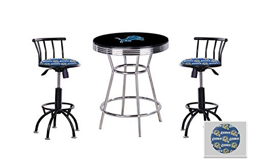3 Piece Black Pub/Bar Table Set with 2 - 24