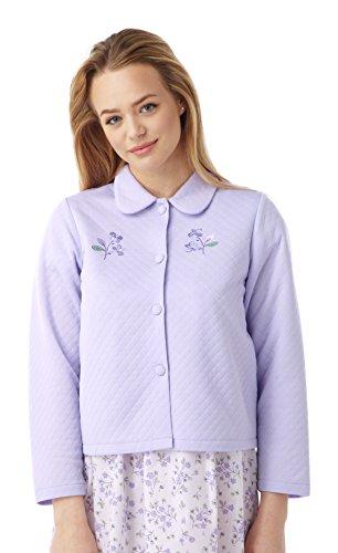 Bed leggera Quilted ricamo MA08772 da pulsante giacca Donne con Pink Marlon aRtqdq