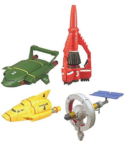 Thunderbirds Mini Mechanic - 4pcs Full Set [w/ Mini Items 1pcs]