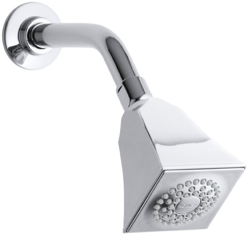 KOHLER K-449-CP Memoirs Single-Function Showerhead with Stately Design, Polished