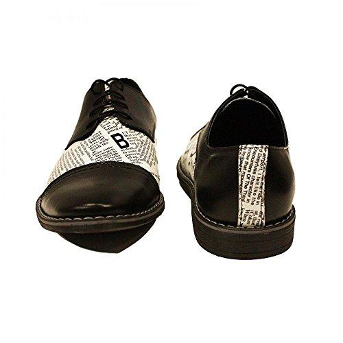 Herring Churchill II (Rubber) - Zapatos de Cordones Para Hombre Marrón Marrón (Mahogany), Color Marrón, Talla 43,5 EU
