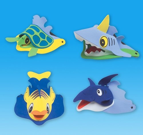 SEA LIFE ANIMAL VISORS, Case of 72 by DollarItemDirect