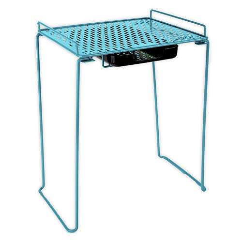 Five Star Extra Tall Locker Shelf and Drawer, Holds 100 lbs., 14 in. Clearance, Fits 12 in. Width Lockers, Locker Accessories, Teal (73363) ()