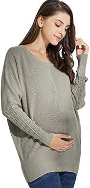 Maternity Nursing Sweater Organic Cotton Dolman Knit