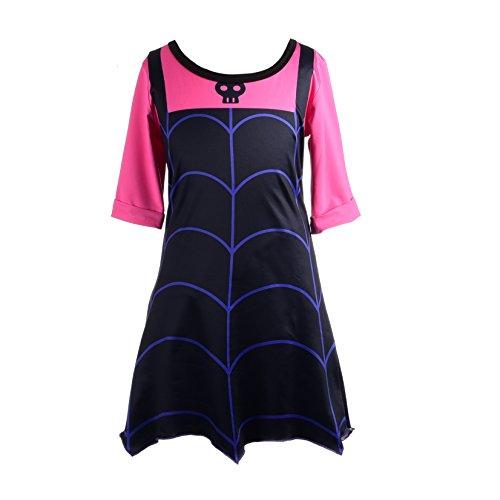 Dressy Daisy Girls Vampirina Boo-Tiful Dress Halloween Fancy Party Costume Outfit Size 6X / -