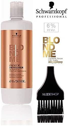 Schwarzkopf Professional BLONDE ME Premium DEVELOPER Oil Formula (STYLIST KIT) 33.8 oz / 1000ml BLONDME (6% ; 20 Volume)