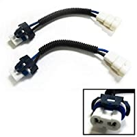 iJDMTOY 9006 HB4 Heavy Duty Ceramic Wiring Harness Sockets For Headlights or Fog Lights