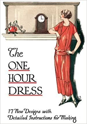 1920s Patterns – Vintage, Reproduction Sewing Patterns 1924 One Hour Dress Booklet-- 17 Vintage 1924 Dress Designs with Detailed Instructions for Sewing (Book 2) by Mary Brooks Picken (2008-01-01) $25.66 AT vintagedancer.com